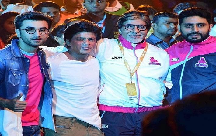 देखिए, अमिताभ, शाहरुख, रणबीर और विराट का 'कबड्डी' प्रेम