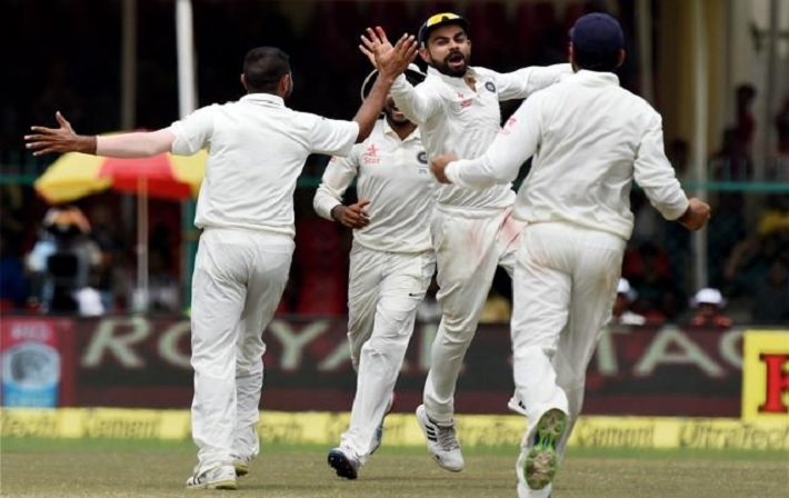 India beats New Zealand to win historic 500th Test