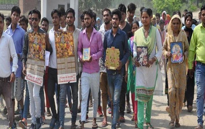 Image result for सहारनपुर में दलितों ने छोड़ दिया हिंदू धर्म