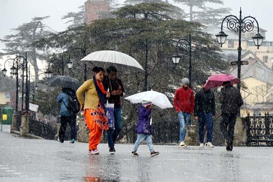 हिमाचल में 5 अप्रैल से फिर चलेगा बारिश-बर्फबारी का दौर